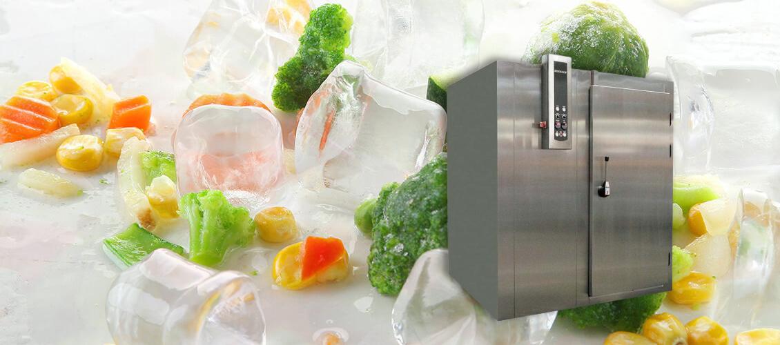 Оборудование шоковой заморозки и интенсивного охлаждения