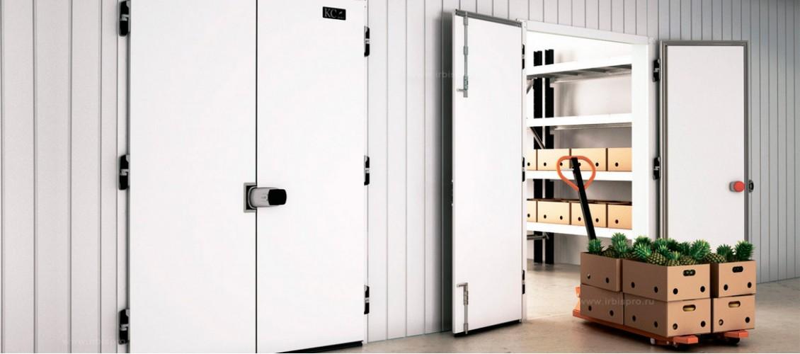 Двери для холодильных камер Ирбис