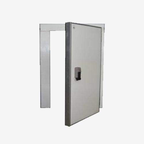 Низкотемпературная дверь одноств.80мм  со световым 1200 х1800мм