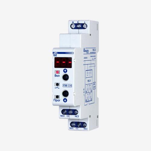 РЭВ-114 реле времени, многофункциональное