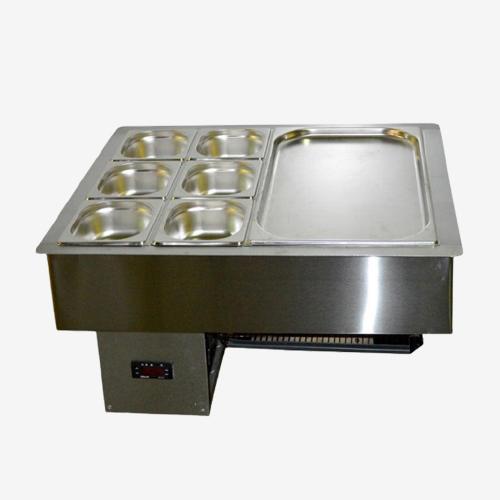 Салат-Бар Охлаждаемый 1,2х0,57м (3,5 Гастроемкости GN1/1)