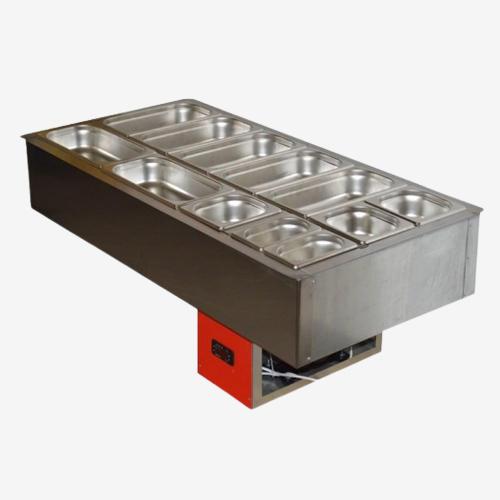 Салат-Бар Охлаждаемый 1,5х0,57м (4,5 Гастроемкости GN1/1)